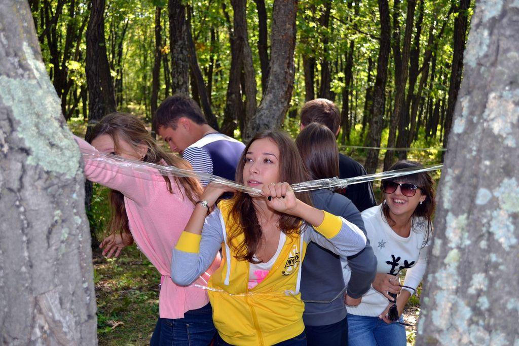 развлечения студентов на природе