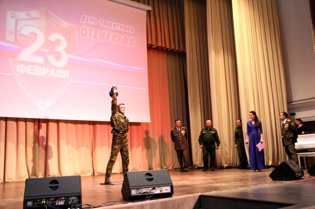 Конкурс военного университета