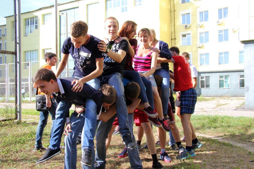 знакомства адаптации для первокурсников и игры